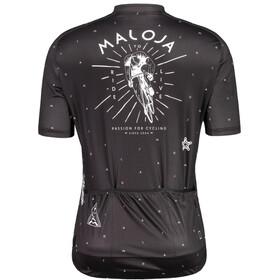 Maloja PazenM. 1/2 Maglietta Da Ciclismo A Maniche Corte Uomo, moonless